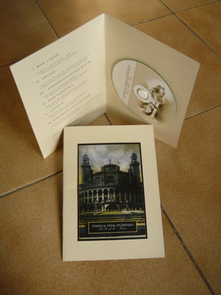 DAWN & DUSK ENTWINED - Fin De Siècle - Paris CD (Lim150+signed)