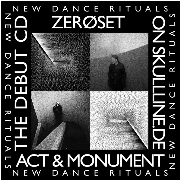 ZEROSET - Act and Monument CDr Lim100 Debut MINIMAL WAVE
