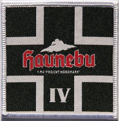 HAUNEBU IV - BK / Patch