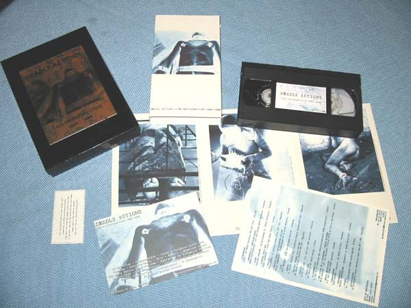 Deadly Action - Live Retrospective 1994-1996 VHS Video BOX