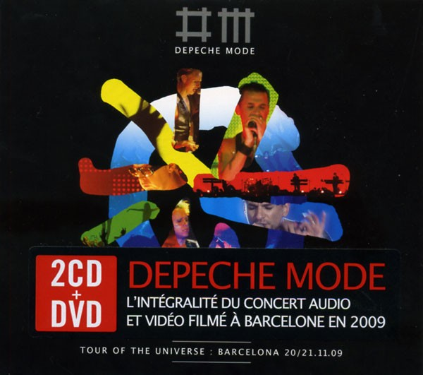 Depeche Mode - Tour Of The Universe : Barcelona 2CD + DVD