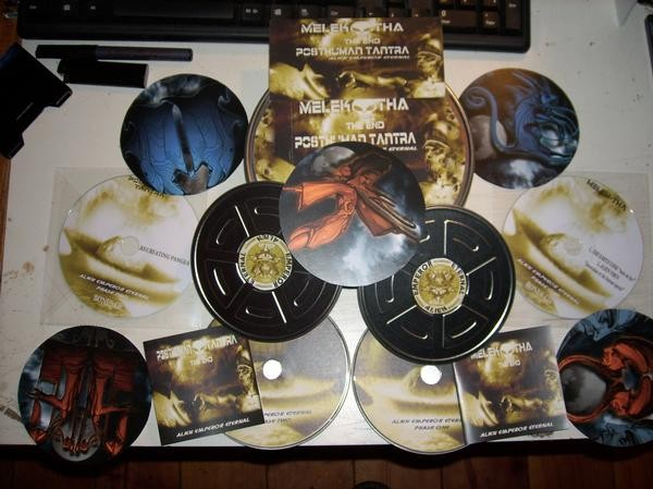 Melek-tha - Alien Emperor Eternal 4CD (Lim50)