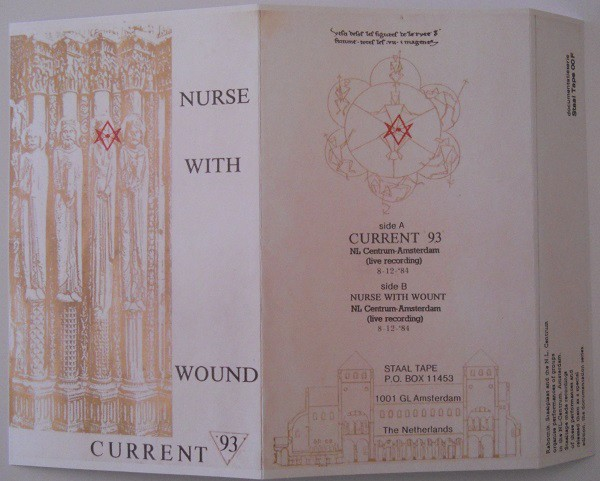 CURRENT 93 / NURSE WITH WOUND - Amsterdam 1984 CDr (Lim17)