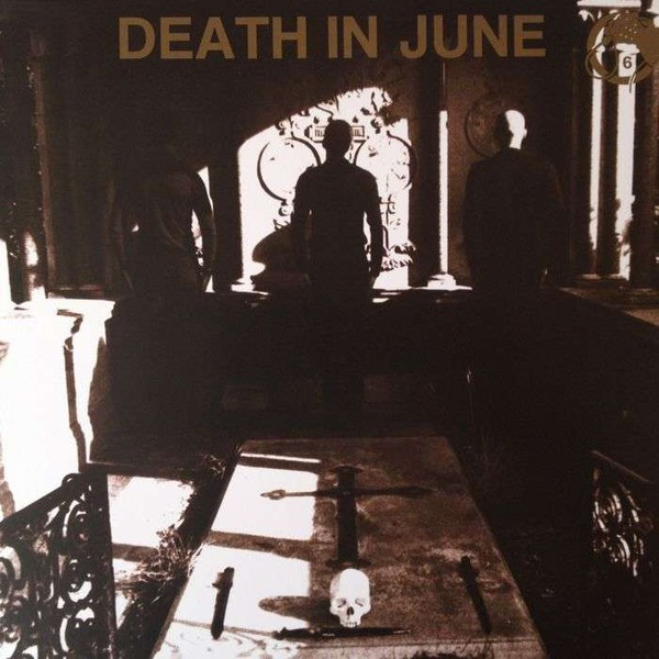 DEATH IN JUNE - Nada! LP BLUE (limited edition)