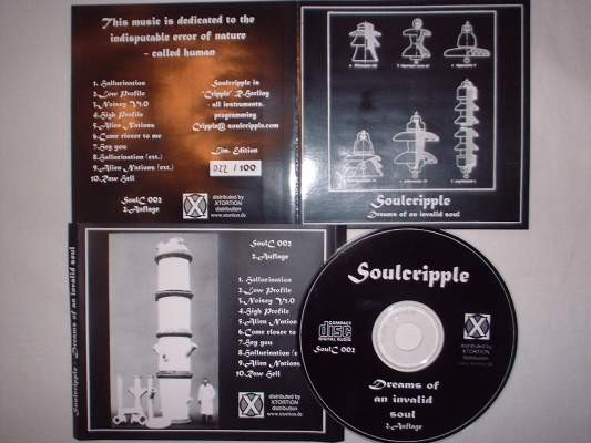 Soulcripple - Dreams Of An Invalid Soul CD (Lim100)