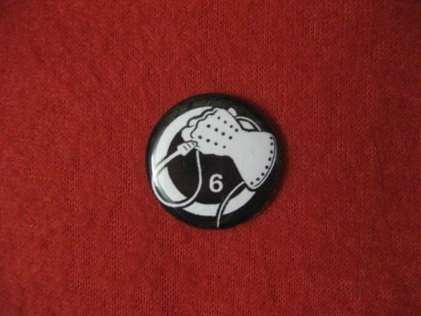 Death in June - Wiphand (white) PIN2