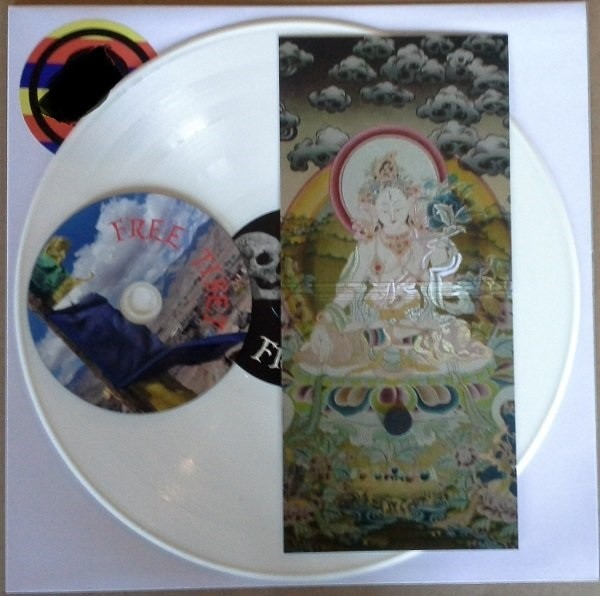 DEATH IN JUNE - Free Tibet SET LP+CDr (Lim100)