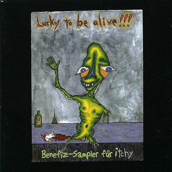 V/A Sampler - Lucky To Be Alive! CD (2007)