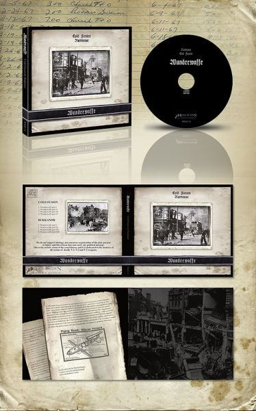 Cold Fusion / Rukkanor - Wunderwaffe CD (2nd Lim500)