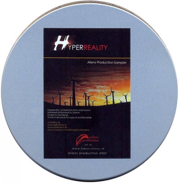 V/A Sampler - Hyperreality CD Metalbox (Lim333)