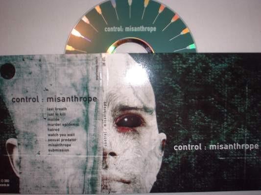Control - Misanthrope CD (Lim500)