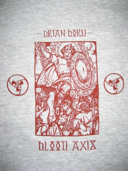 BLOOD AXIS - Brian Boru SHIRT