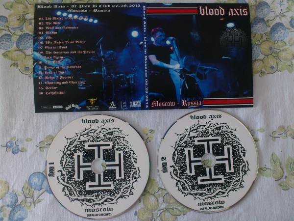 Blood Axis - At Plan B Club Moscow - Russia 2CD (Lim100)