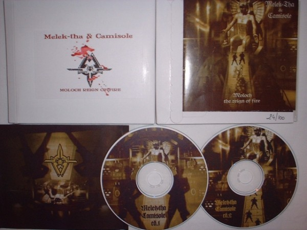 Melek-tha & Camisole - Moloch Reign of Fire 2CD (Lim100)