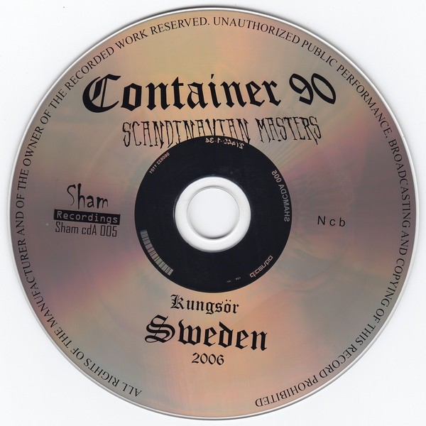 Container 90 – Scandinavian Masters CD (Lim300)