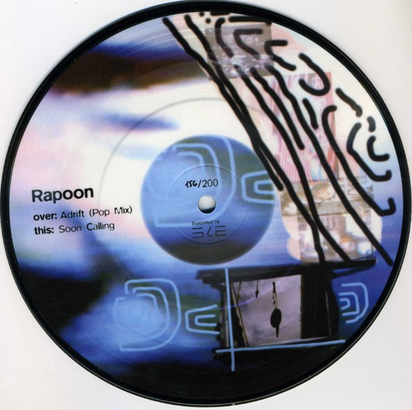 "RAPOON (Zoviet France) - Jane 7"" Pic (Lim200) 2004"