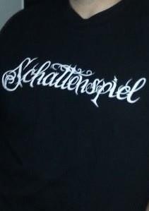 SCHATTENSPIEL - Scripture Logo Shirt 2014