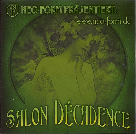 V/A Sampler - Salon Decadence CD (2006)