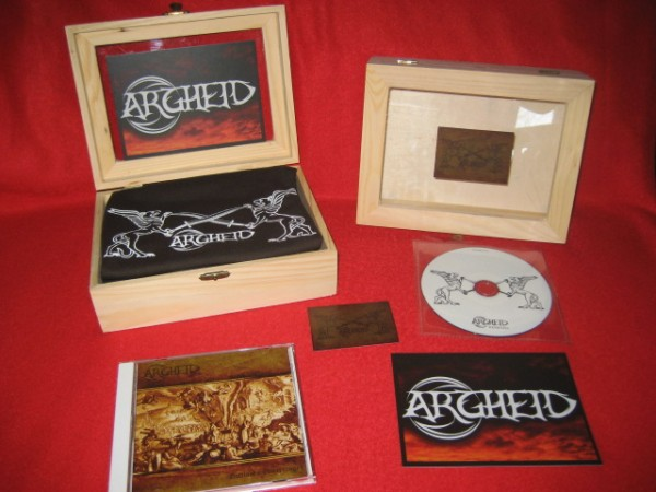 ARGHEID - Gottloses Unterfangen WOODEN BOX (Lim30) 2012