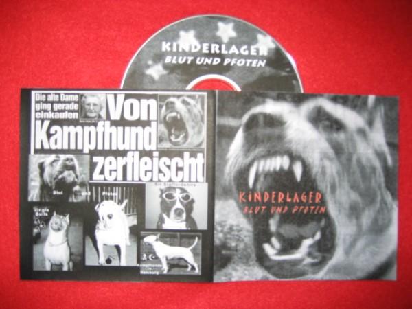 Kinderlager - Blut Und Pfoten CD (Lim100)