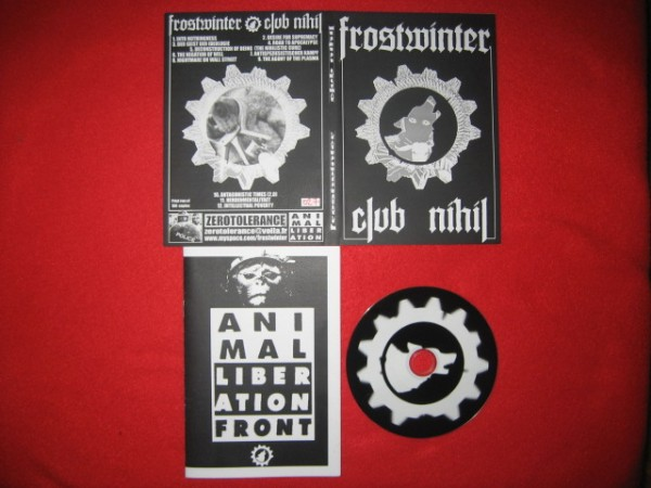 Frostwinter - Club Nihil CD (Lim100)