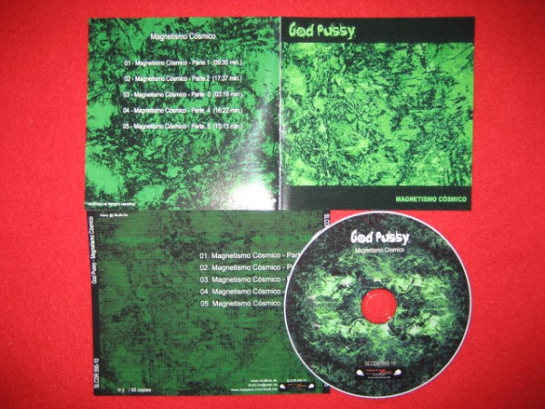 God Pussy - Magnetismo Cosmico CD (Lim50)