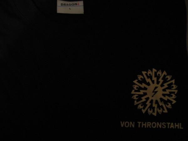 Von Thronstahl - Shirt (gold logo)