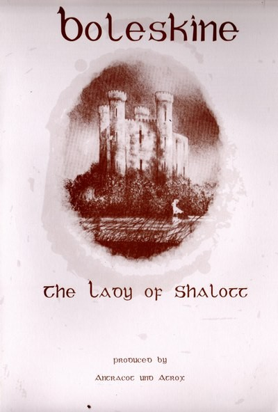 BOLESKINE (Atrox + Antracot) - The Lady Of Shalott CD (Lim249) 2010