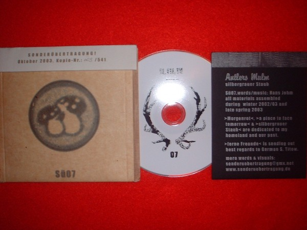 Antlers Mulm (Radio Eichenlaub) - Silbergrauer Staub (Lim541)