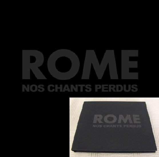 Rome - Nos Chants Perdus CD (Limited Edition)
