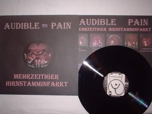 Audible Pain - Mehrzeitiger Hirnstamminfarkt LP (Lim300)