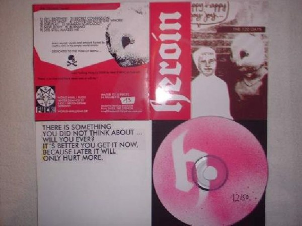 The 120 Days - HEROIN CD (Lim50+signed)