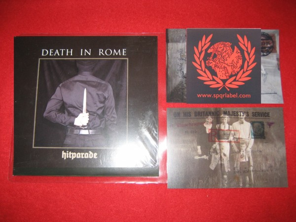 DEATH IN ROME - Hitparade CD + 1Postcard & sticker (Lim500) 2017