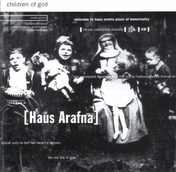 HAUS ARAFNA - Children Of God CD (2000)