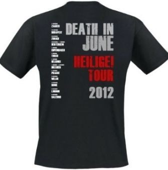 Death in June - Heilige Tour 2012 Shirt