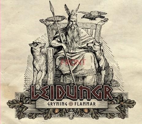 LEIDUNGR (Arditi) - Gryning Flammar CD Dig (Lim300) 15.02.2021 PRE-ORDER !