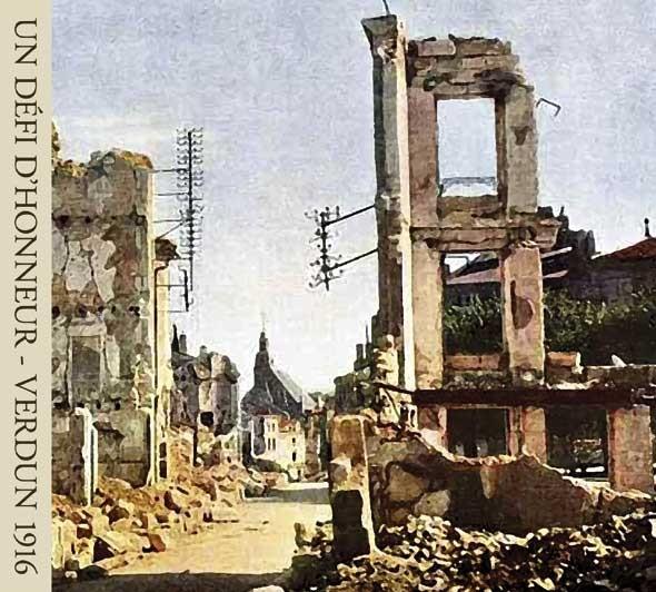 A Challenge Of Honour (Un Défi d'Honneur) - Verdun 1916 CD 2006