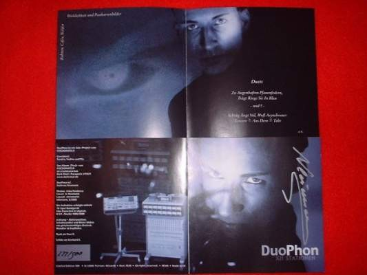 Duophon (Kirchomfeld) - XII Stationen CD (Lim500+signed)
