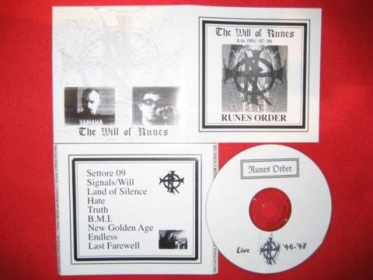 Runes Order - The Will Of Runes CD (Lim300)