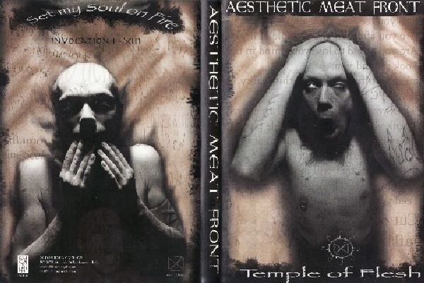 Aesthetic Meat Front - Temple Of Flesh CD (1st Lim180)