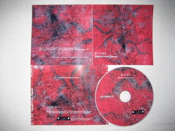 C.T.D. - Signal From Quasar CD (Lim25)