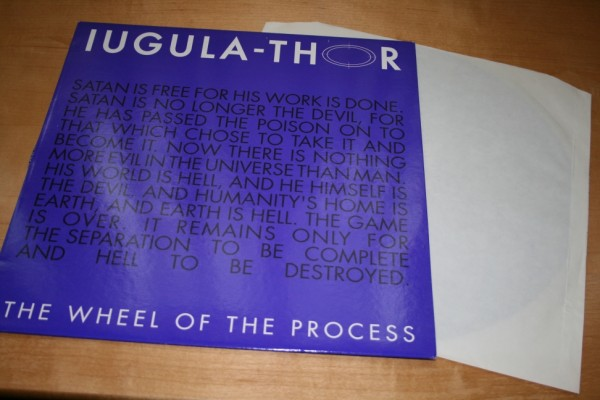 Iugula-Thor – The Wheel Of The Process MLP (1992)
