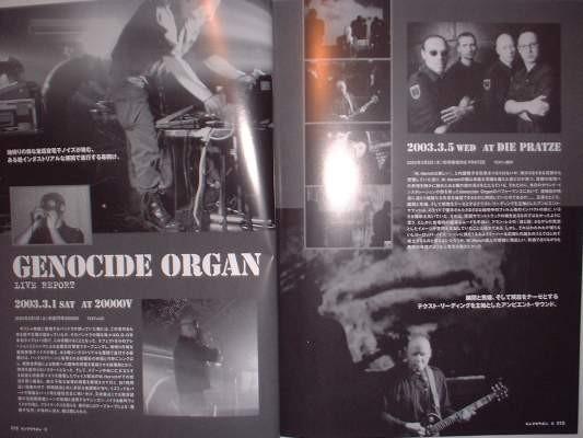 MAG 2CD Denshi Zatsuon 8 - Live Aktion 2003-2004 Genocide Organ