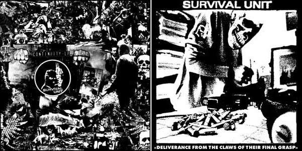 Survival Unit - Continuity LP Set (Lim100)