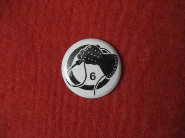 Death in June - Wiphand (black) PIN2