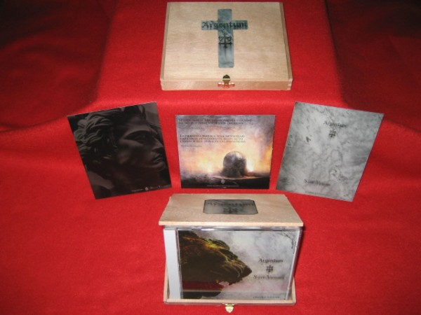 ARGENTUM - Salve Victoria Wooden - 2CD Box (Lim50) 2011