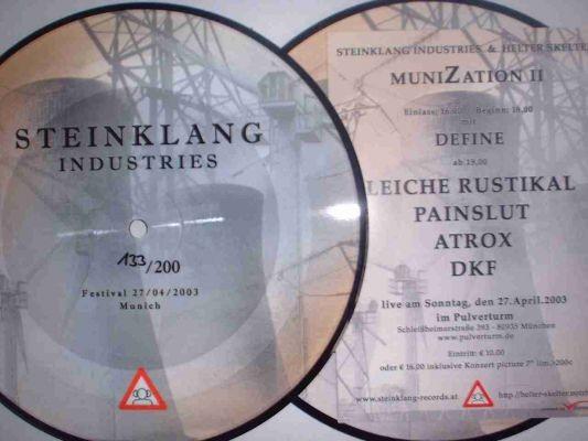 V/A Sampler Steinklang - MuniZation II Pic 7 (Lim200)