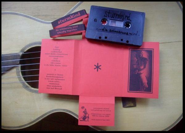 STURMKIND - Die Erinnerung wird lebendig begraben Tape