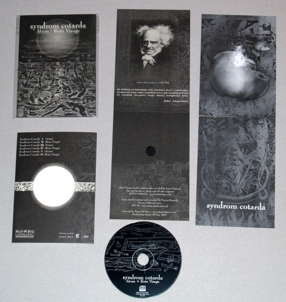 Atum / Roto Visage - Syndrom Cotarda CD (Lim200)