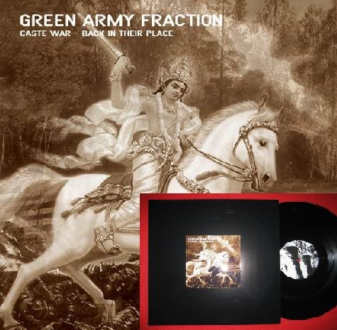 Green Army Fraction - Caste War - Back In Their Place LP (Lim100